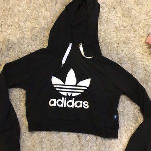 Cropped Adidas Hoodie